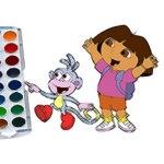 Cute Girl Coloring Book